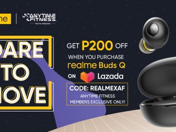 realme x Anytime Fitness