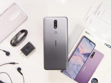 Back flatlay - Nokia 2.4 (Philippines)