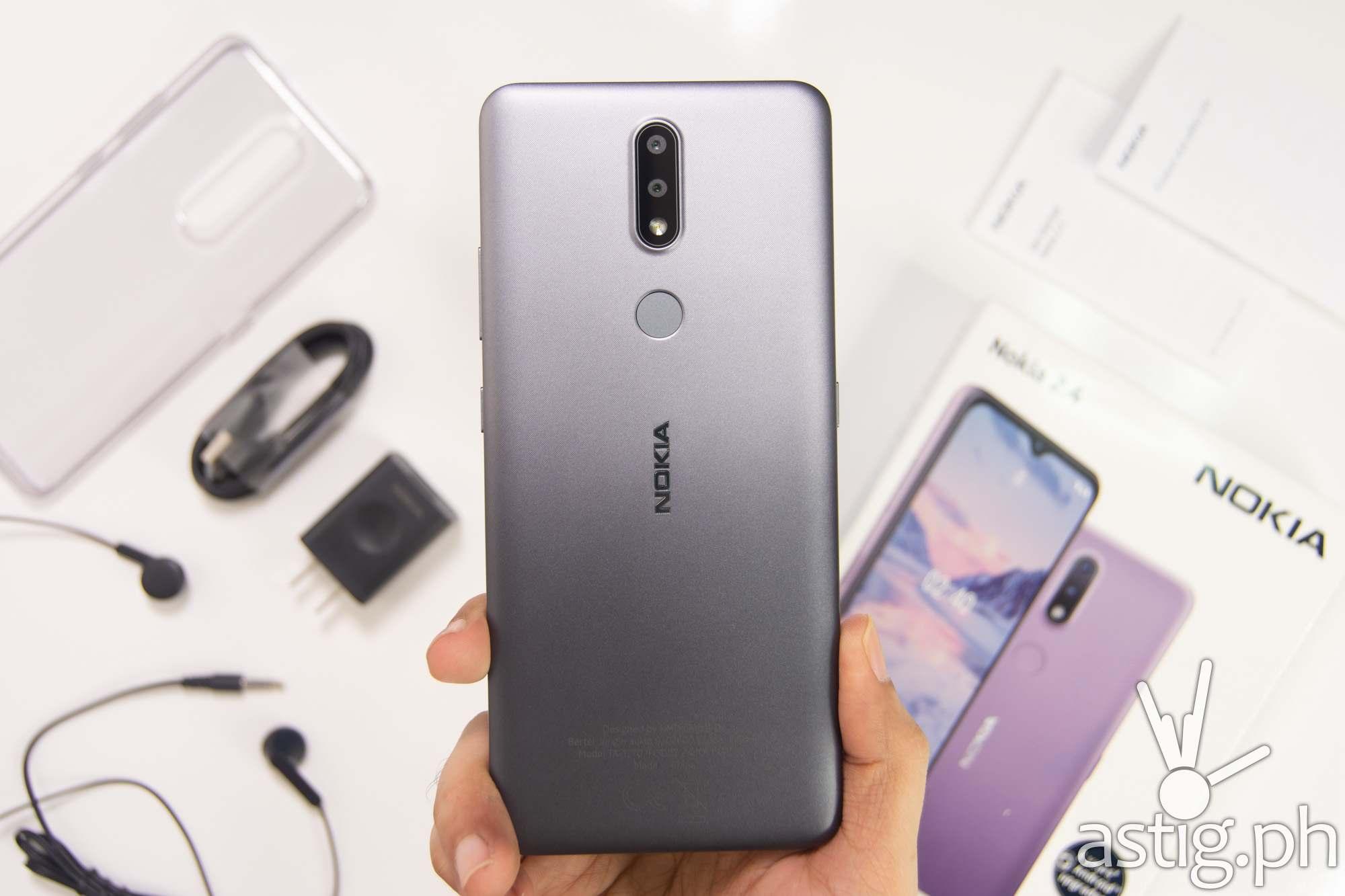 Back handheld - Nokia 2.4 (Philippines)