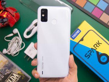 Back handheld - TECNO Spark 6 Go (Philippines)