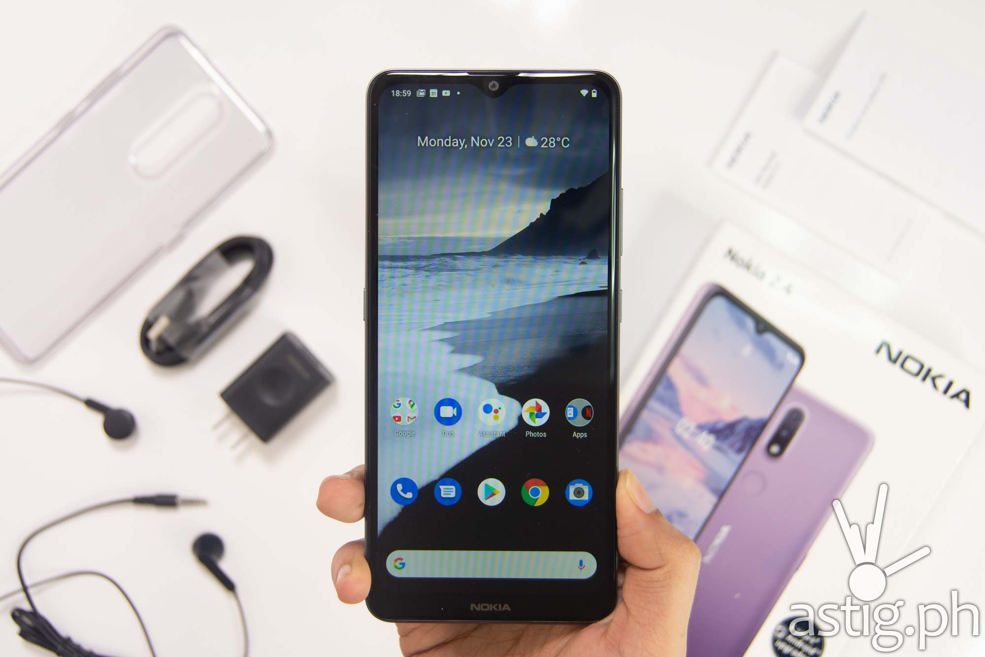 Front handheld - Nokia 2.4 (Philippines)