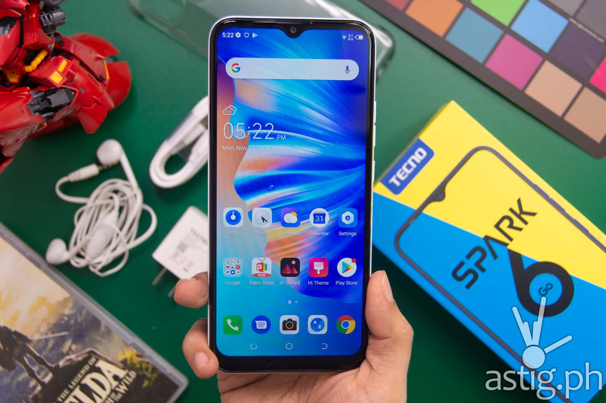 Front handheld - TECNO Spark 6 Go (Philippines)