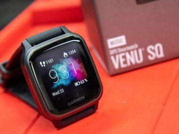 Garmin Venu SQ (via dcrainmaker.com)