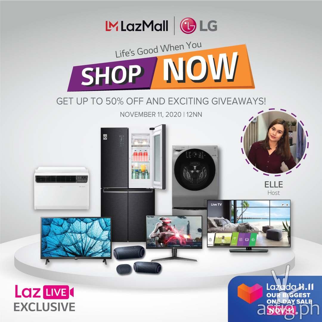 LG 11.11 LazLive