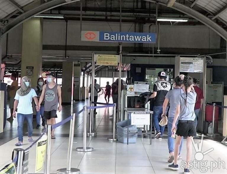 LRT-1 Balintawak Station Bayad Center