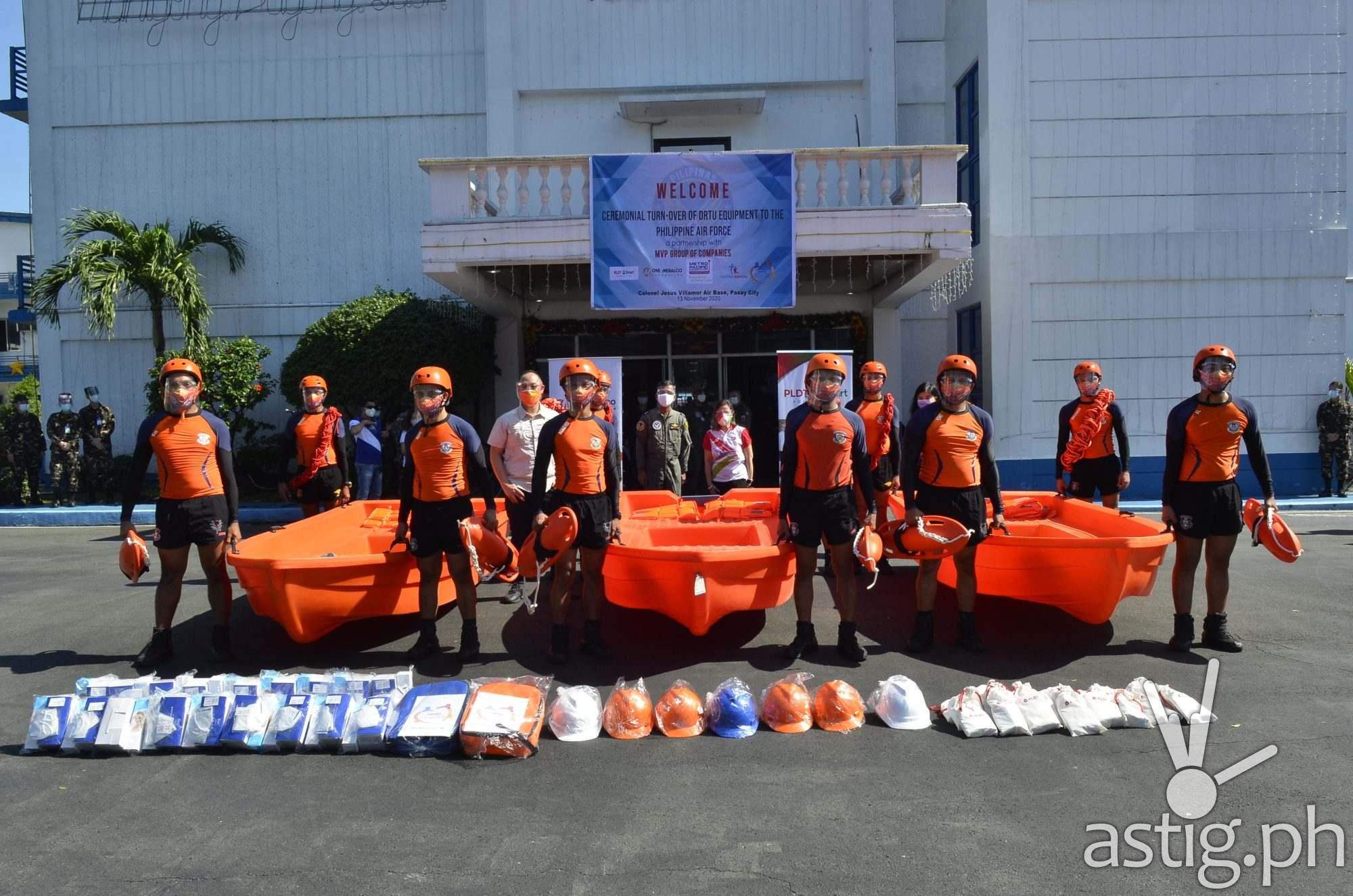 MVP Group relief efforts - Typhoon Ulysses