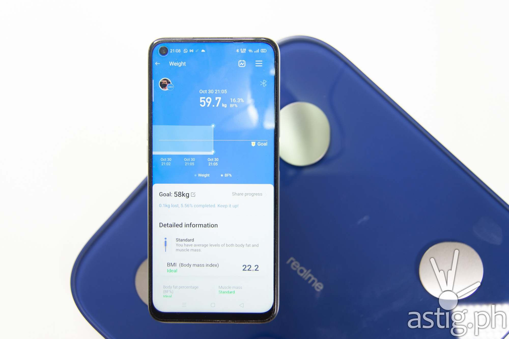 realme Link app - realme Smart Scale (Philippines)