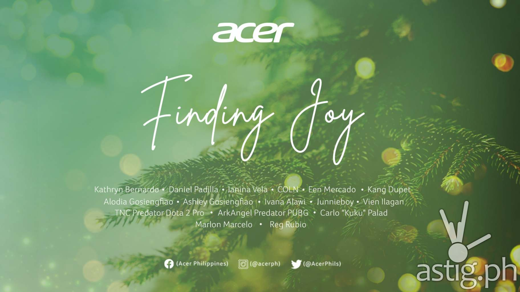 Acer Philippines launches Finding Joy
