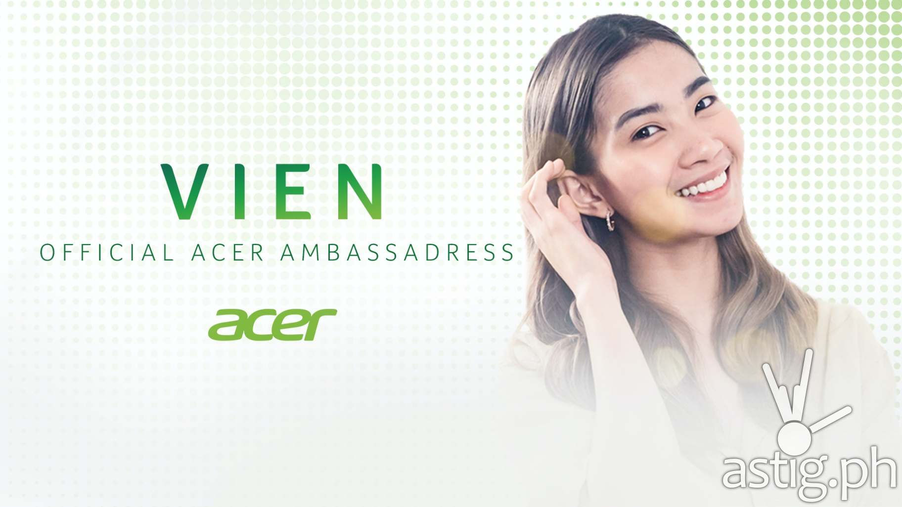 Acer Philippines welcomes Vein as new ambassadress