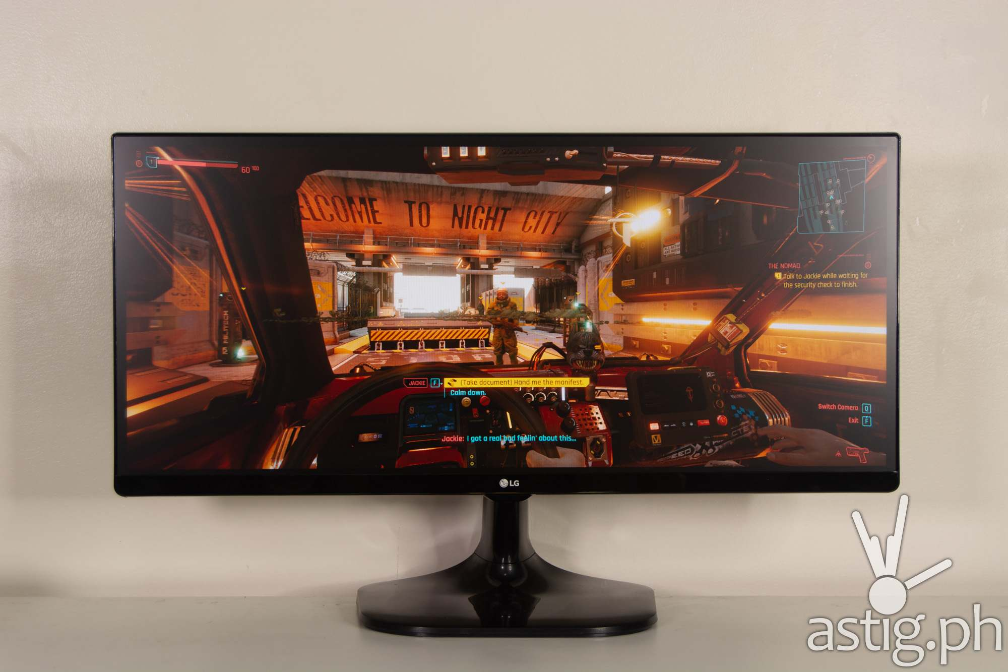 Front solo - LG 25UM58 UltraWide Monitor (Philippines)