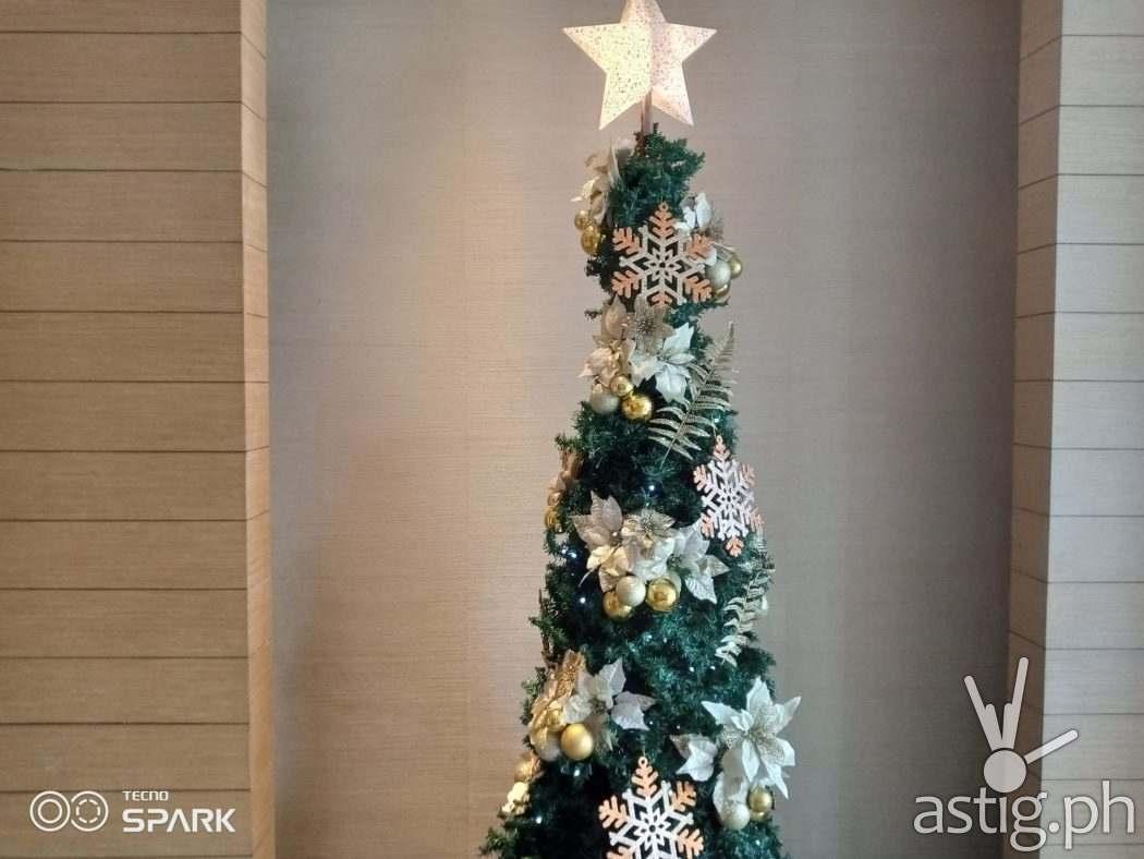 Indoor Christmas tree sample photo - TECNO Spark 6 Go (Philippines)