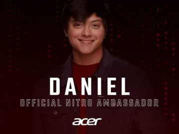Teen King Daniel Padilla is the new Acer Nitro Ambassador