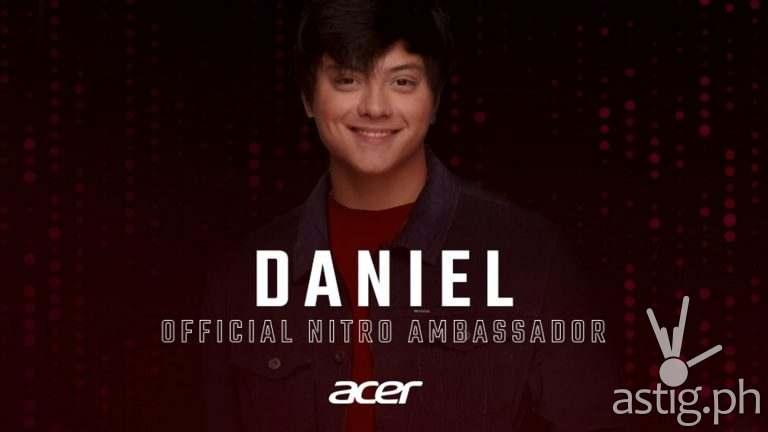 Teen King Daniel Padilla is the new Acer Nitro Ambassador