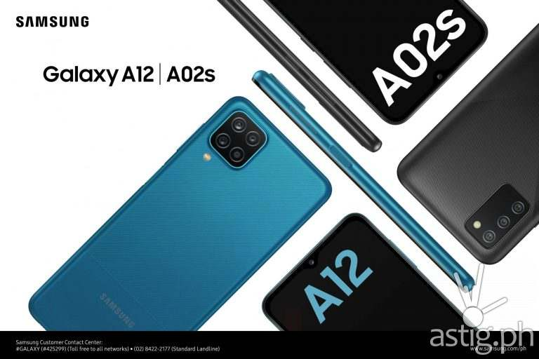Galaxy A12 and A02s
