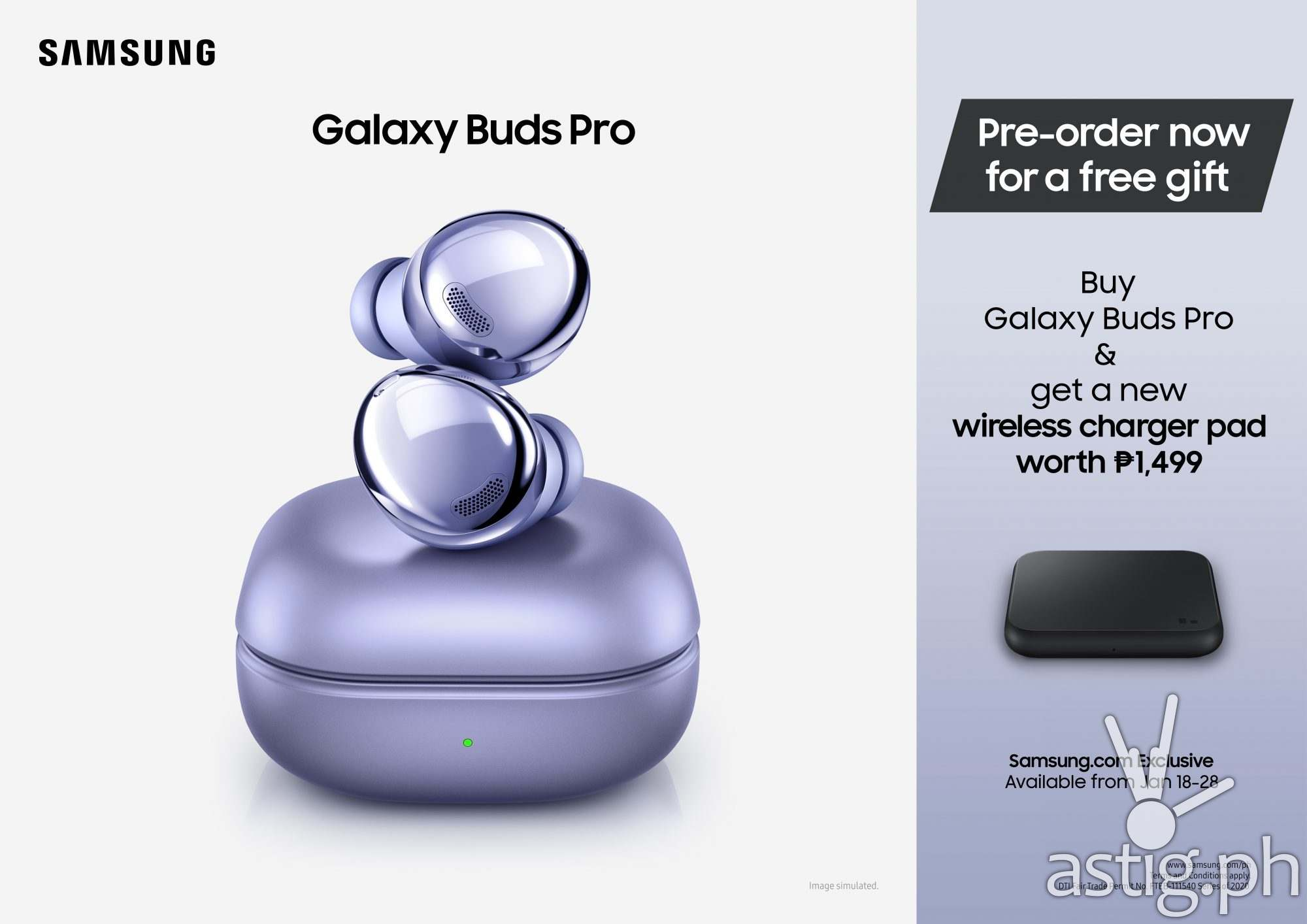 Galaxy Buds Pro Preorder price (Philippines)