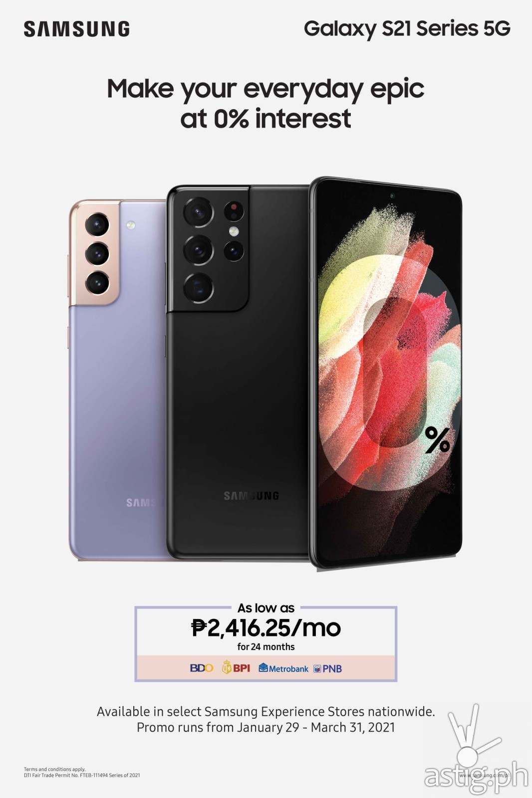 SAMSUNG Galaxy S21 Series 5G promo (Philippines)