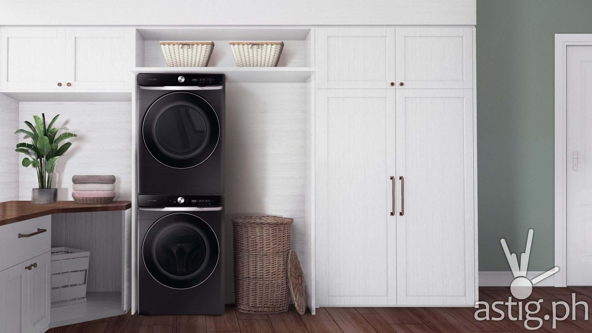 Samsung Washer Dryer Pair - CES 2021