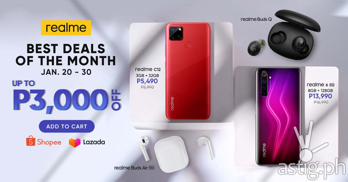 realme kickstarts the year with the best deals of the month