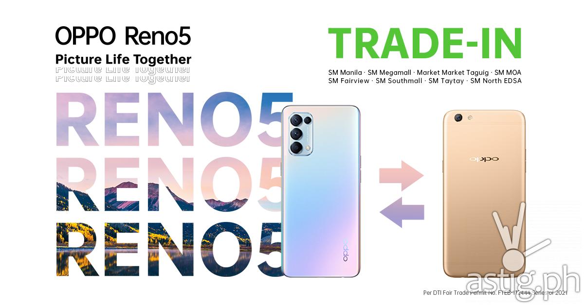 OPPO Reno5 trade-in
