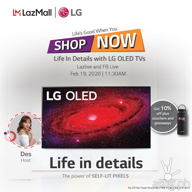 LG Livestream Lazada Philippines