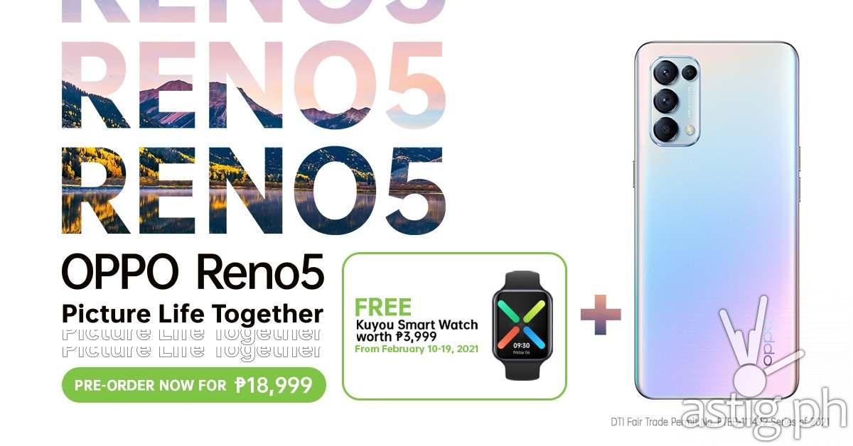 OPPO Reno 5 Philippines price