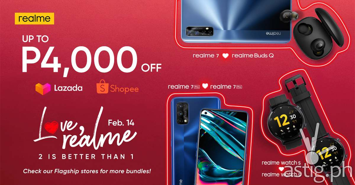 realme PH offers bundle promos for its squad this Valentine's Day