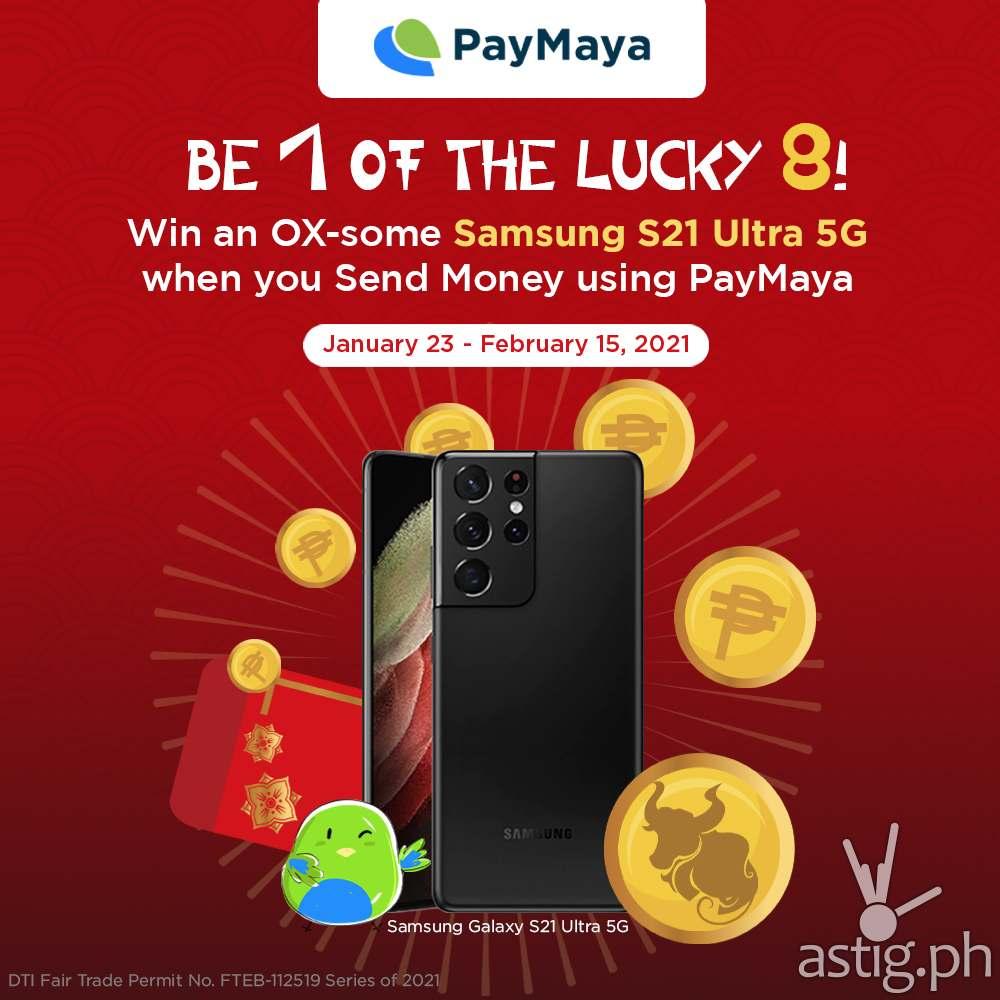 PayMaya Send Money CNY