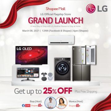 LG Shopee Grand Launch