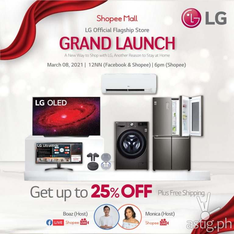 LG Shopee Grand Launch