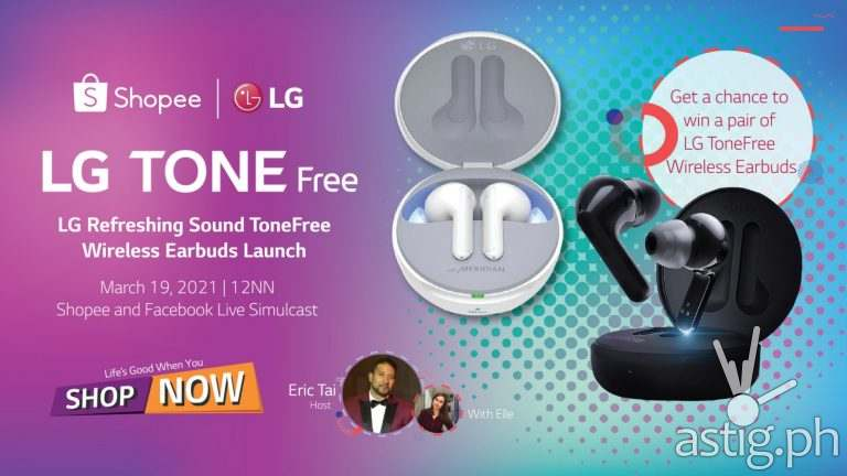 LG ToneFree TWS earbuds