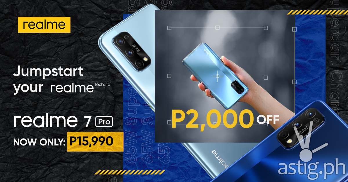 realme 7 Pro price drop (Philippines)