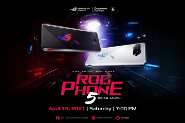 ROG Phone 5 Launch - April 10