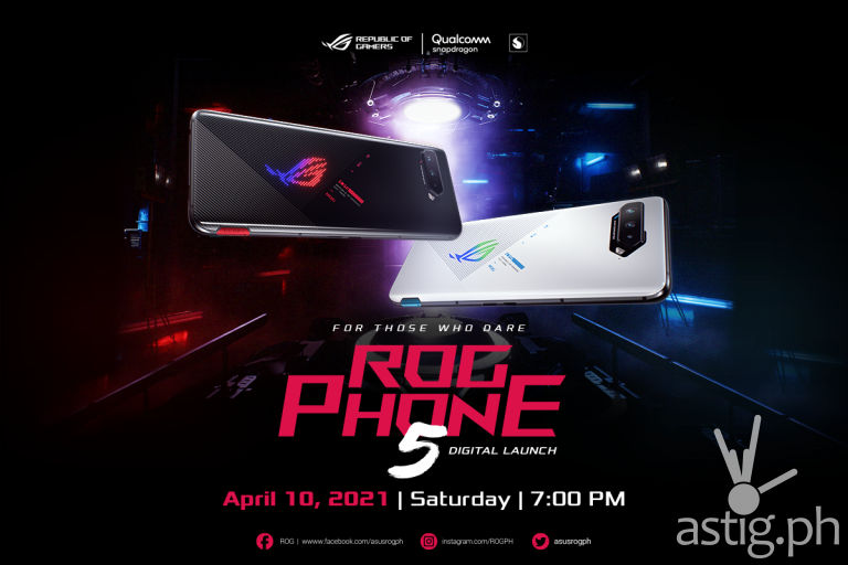 ROG Phone 5 Launch - April 10