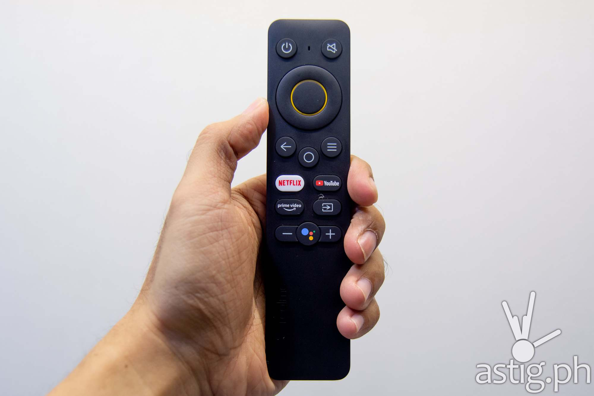 Remote control close-up - realme TV (Philippines)