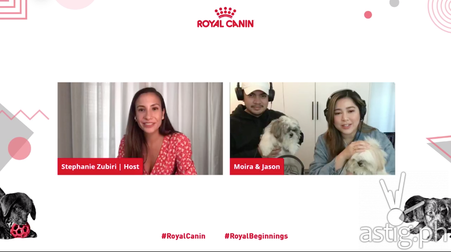 Royal Canin Puppy Webinar - Moira, Jason, Potchi, and Caramel
