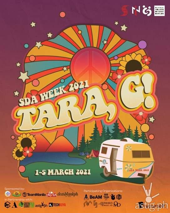 SDA Week Tara, G! (Main Poster)