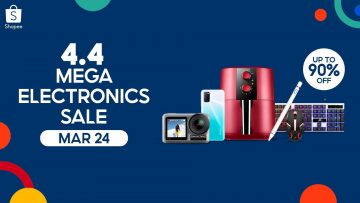 Shopee 4.4 Mega Electronics Sale