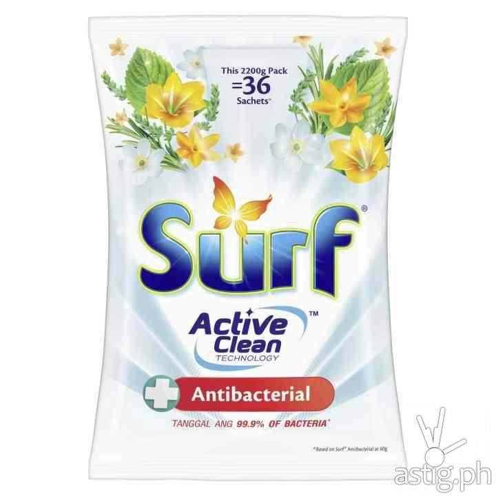 Surf Antibacterial Laundry Powder Detergent