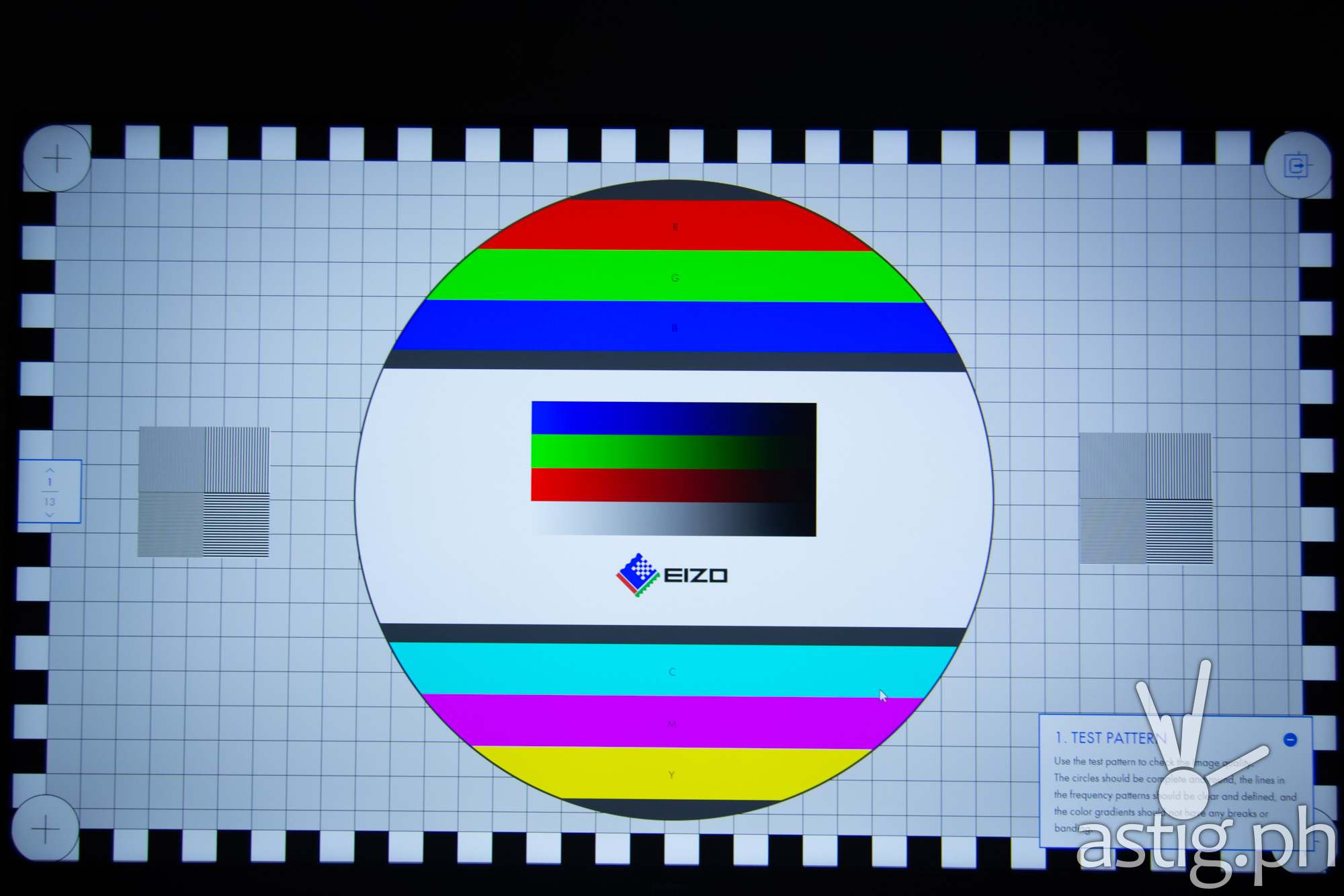 Test pattern - realme TV (Philippines)