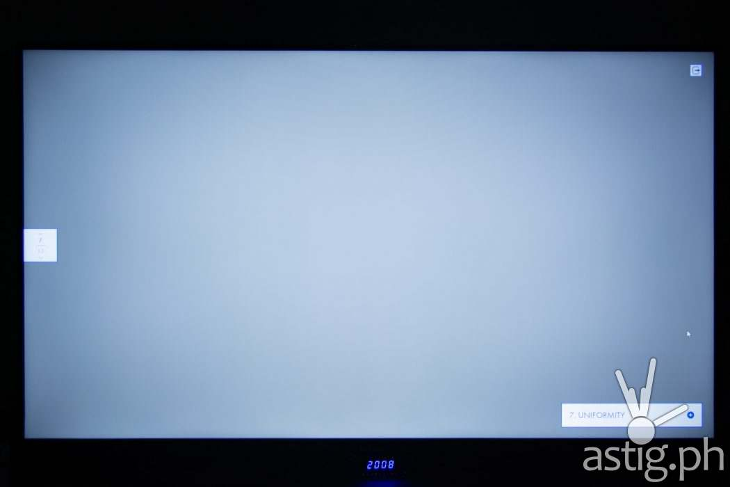 Uniformity test - realme TV (Philippines)