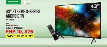 XTREME 43-inch television