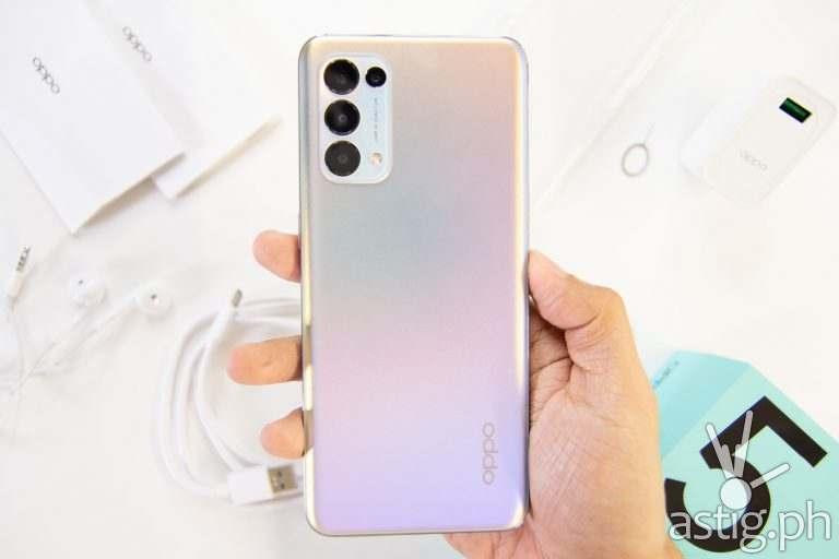 Back handheld - OPPO Reno 5 5G (Philippines)