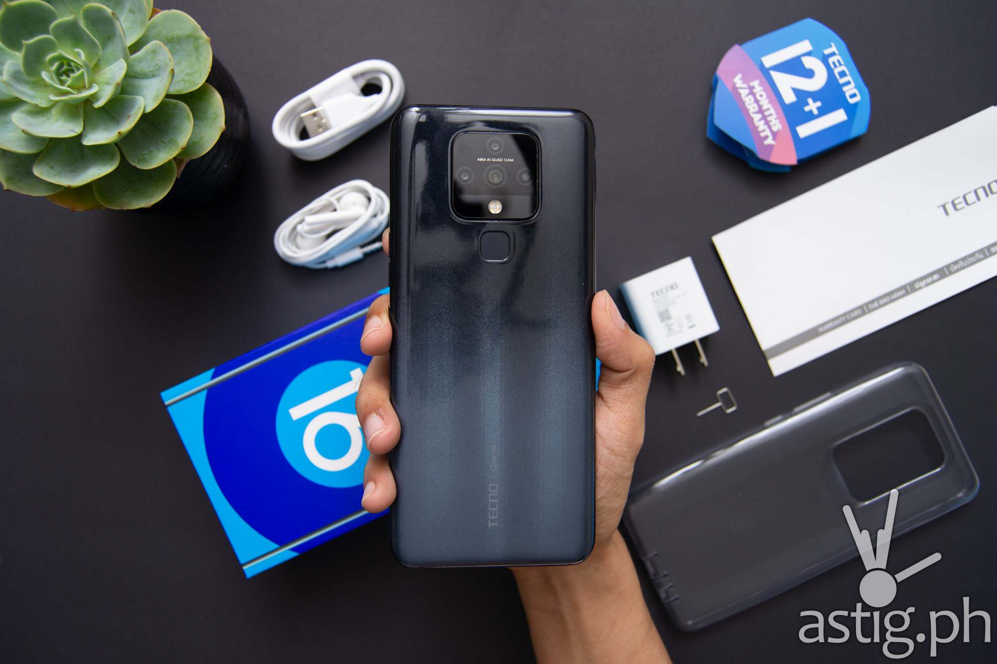 Back handheld - TECNO Camon 16 (Philippines)