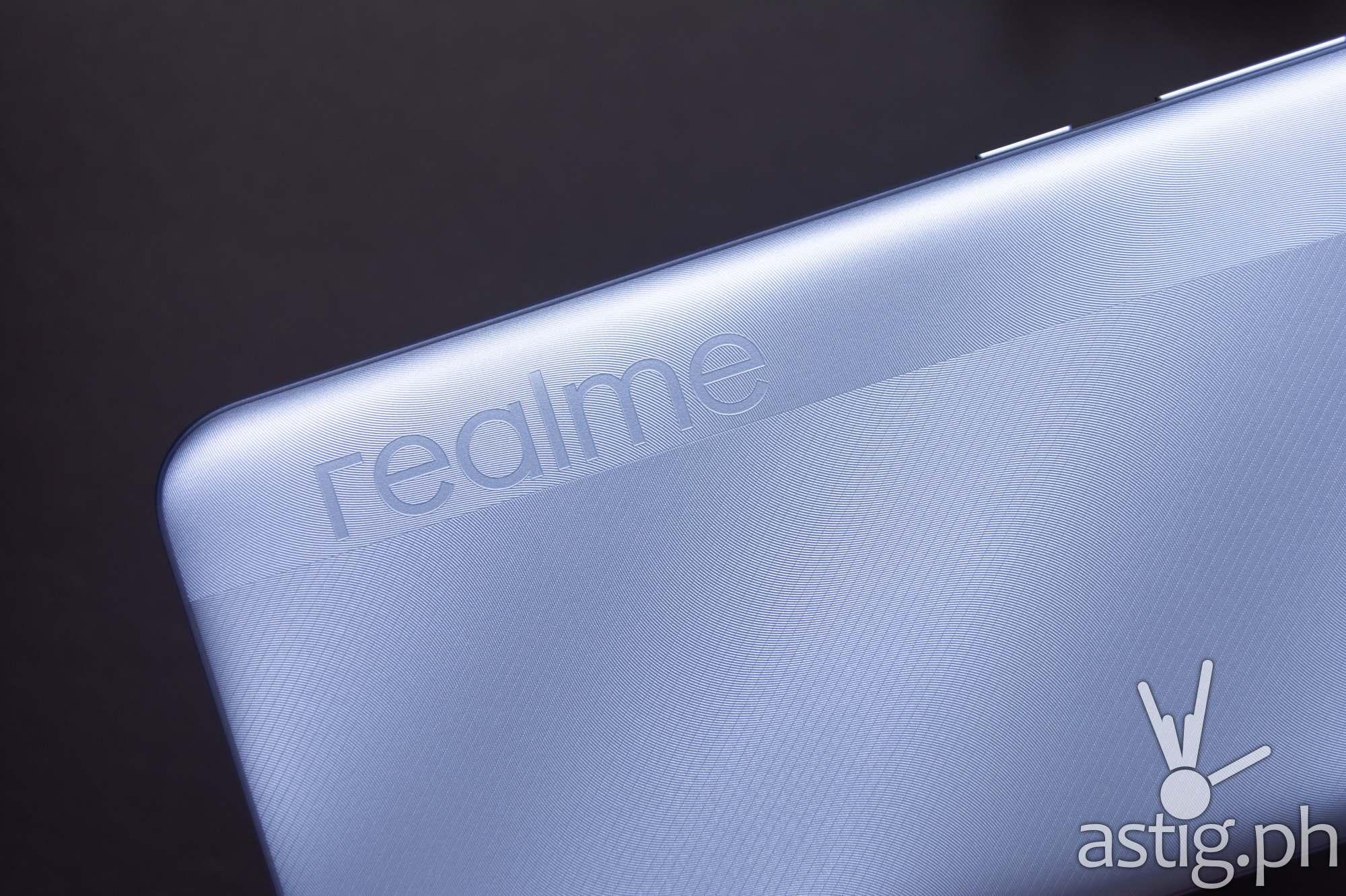 Back showing realme logo - realme c25 (Philippines)