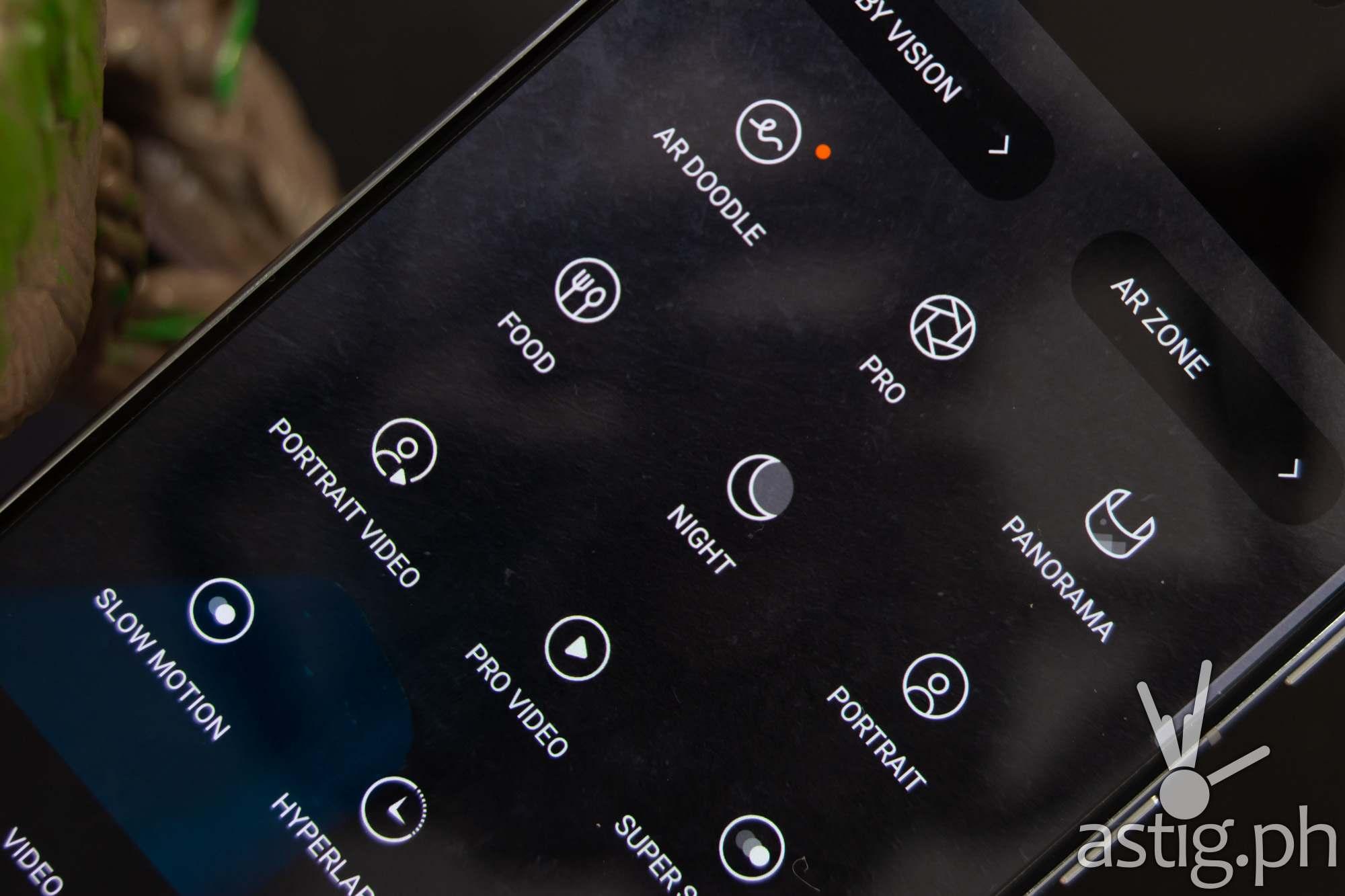 Camera settings - Samsung Galaxy S21 Plus 5G(Philippines)