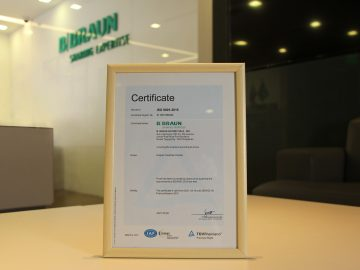 B. Braun Avitum has been recertified with ISO 9001:2015 for quality management system (QMS), the global benchmark for organizations in continuous improvement, consistent provision of products and services that meet customer and regulatory requirements.