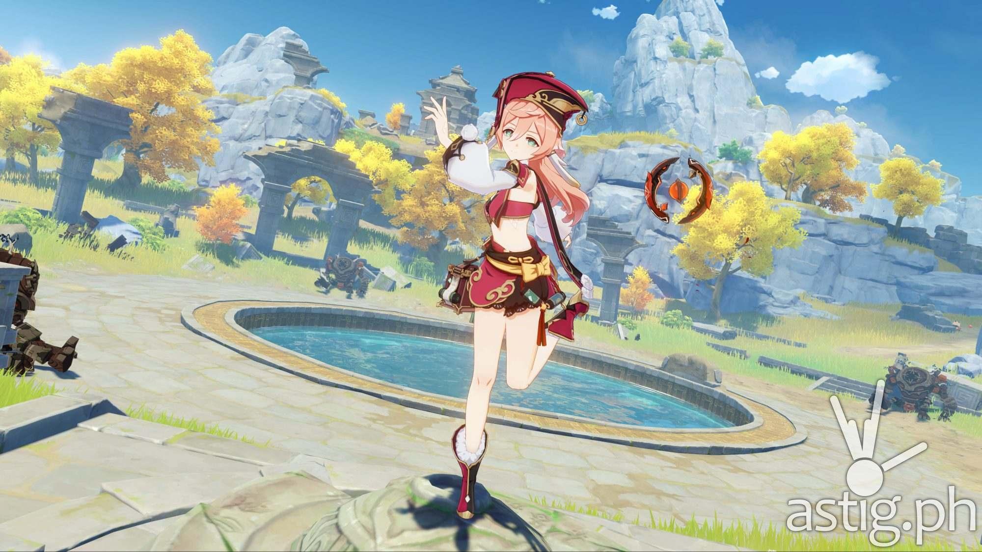 Genshin Impact Playstation 5 (PS5) screenshot