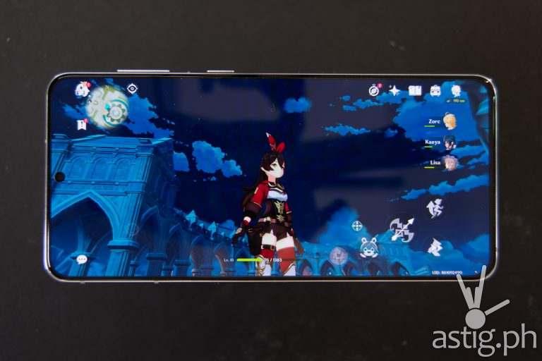 Genshin Impact mobile gaming - Samsung Galaxy S21 Plus 5G (Philippines)