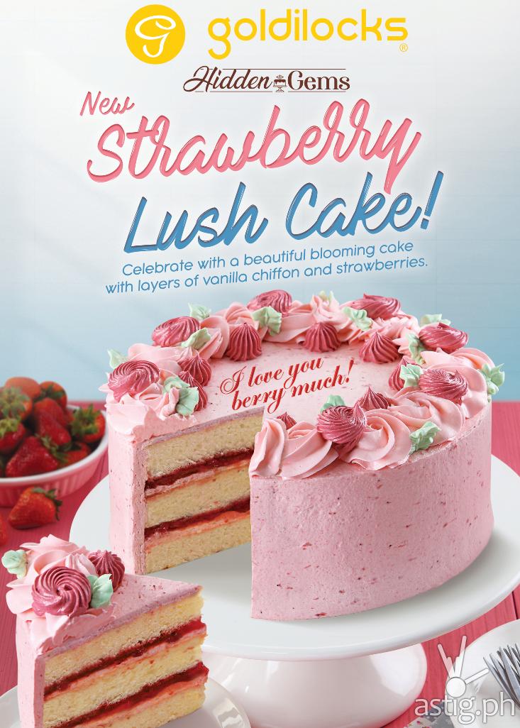 Goldilocks Strawberry Lush Cake