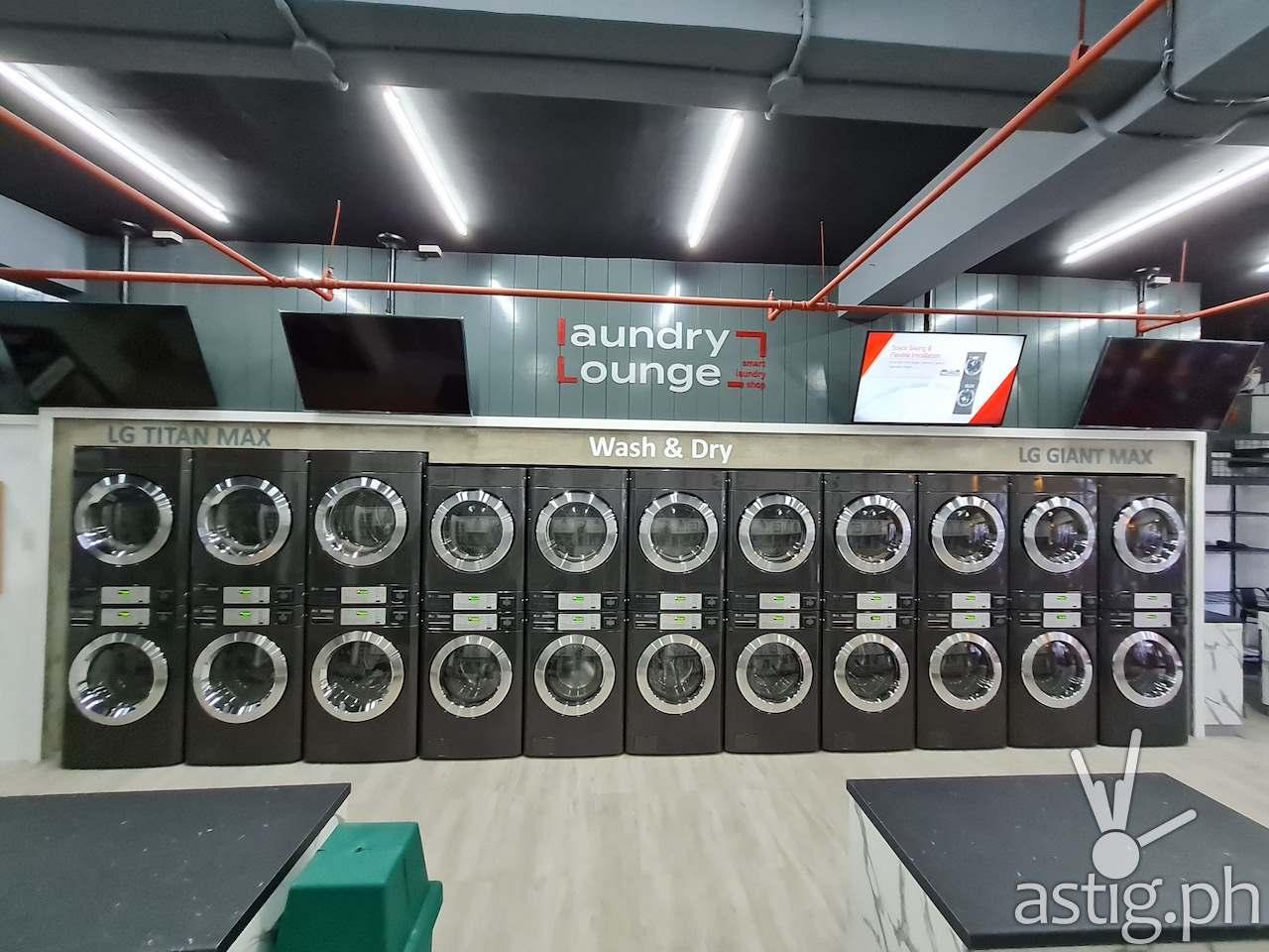 LG Smart Laundry Lounge Philippines